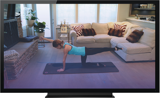 Stream Club Pilates on Demand to your TV